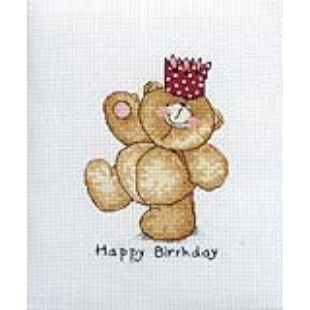Happy Birthday: Cross stitch (Anchor, FRC220)