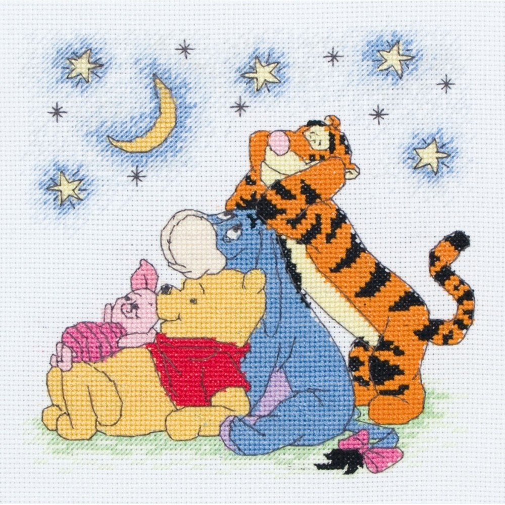 Pooh And The Gang Cross Stitch Anchor Dppf029