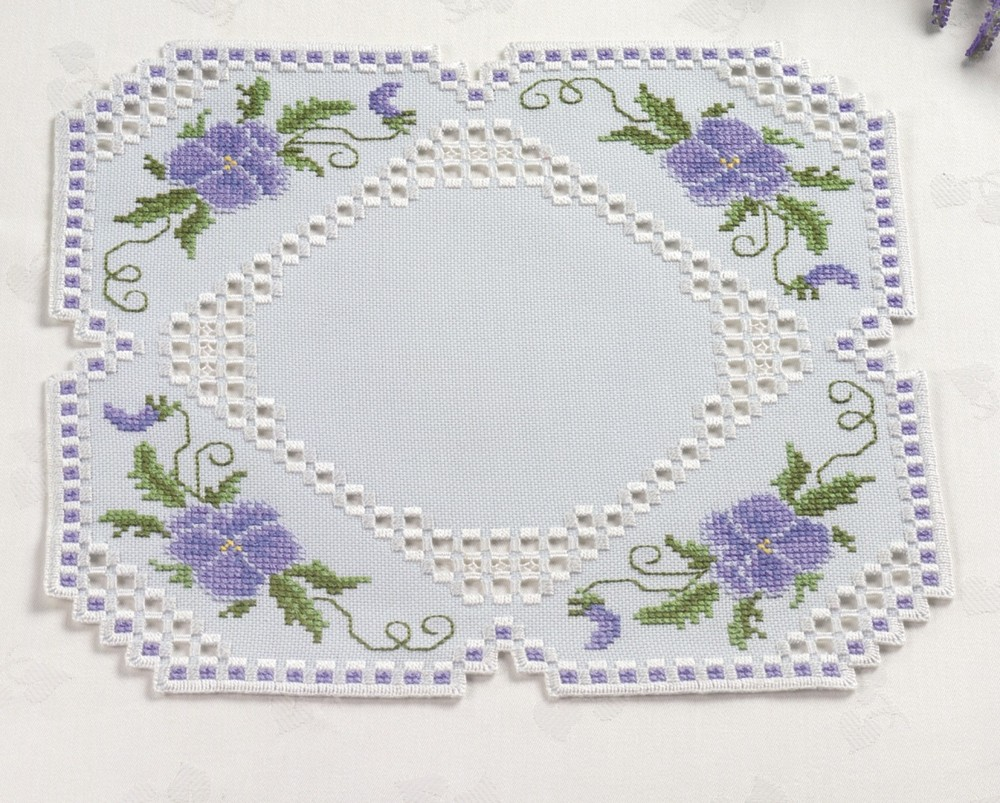 Lilac Hardanger Table Mat Embroidery Permin 10 2808 : ssn35758 from www.stitcher.co.uk size 1000 x 803 jpeg 249kB