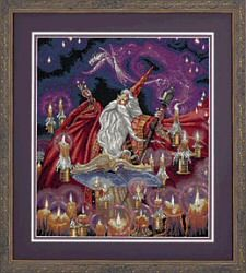 Scarlet Wizard: Cross stitch (Dimensions, D35141)