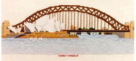 Sydney Harbour Bridge: Cross stitch (Abacus Designs, 14993)
