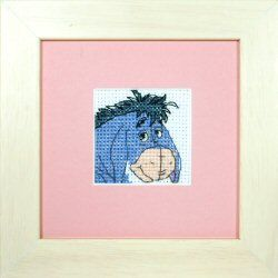 Eeyore: Cross stitch (Anchor, DPPF1007)
