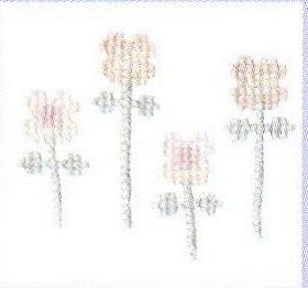 Personal Touch Flowers: Cross stitch (DMC, BK585)