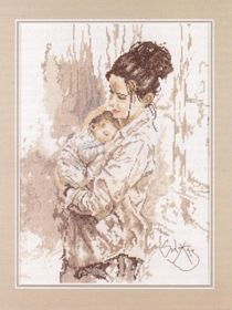 Mother's Love: Cross stitch (Lanarte, PN-0008047)