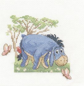 Eeyore: Cross stitch (DMC, BL696L)