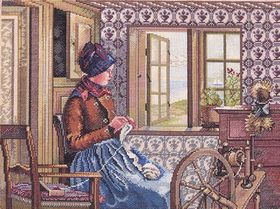 The Knitter: Cross stitch (Eva Rosenstand, 14-201)