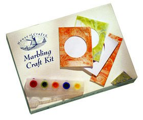 Starter Marbling Craft Kit: Craft Kits (House of Crafts, MK003)