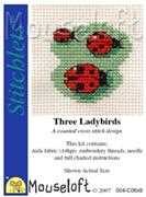 Three Ladybirds