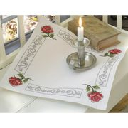 Rose and Scroll Tablecloth