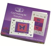 Butterflies Card Making Kit