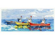 Bright Fishing Boats