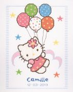 Hello Kitty Balloons Birth Record