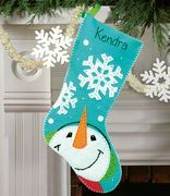 Catching Snowflakes Stocking