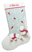 Snow Bears Stocking