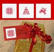 Christmas Motif Gift Tags - Set 6