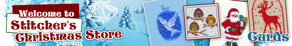 Christmas Cross Stitch Cards