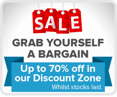 Discount Zone - up to 70% off!