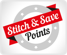 Stitch & Save - Collect Points and Save Money