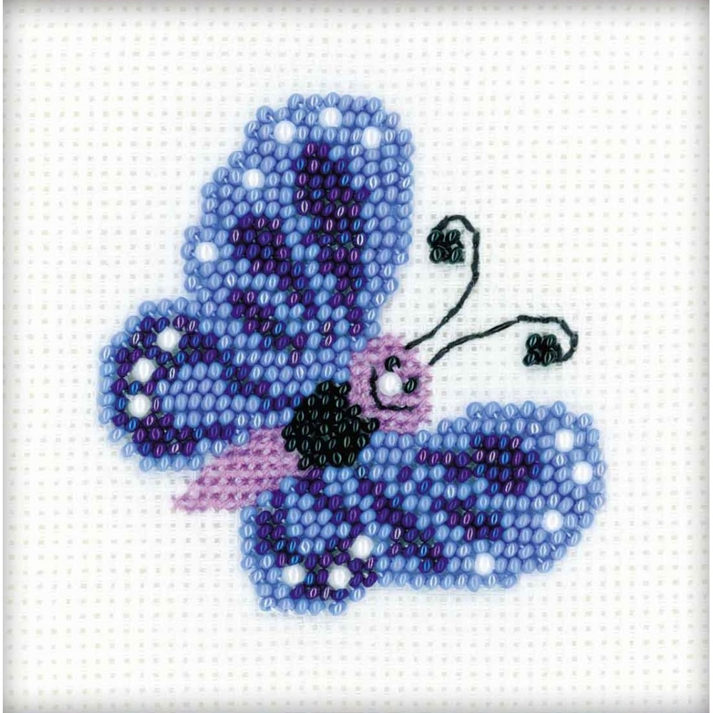 Butterfly Beaded Embroidery