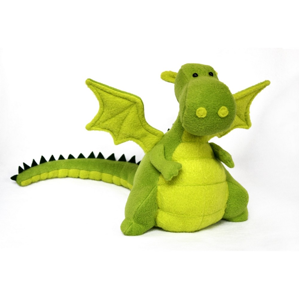 Green Dragon Soft Toy Making Diy Fluffies Dgreen