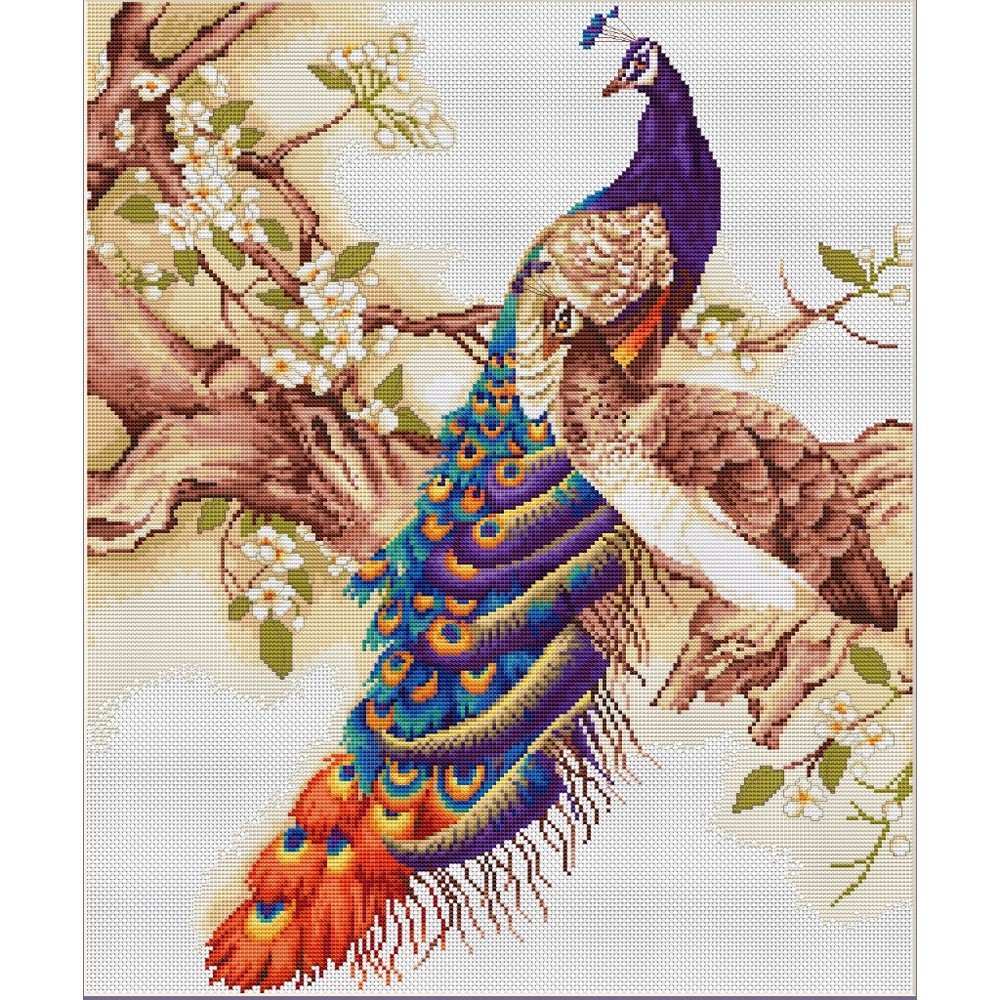 Peacocks I