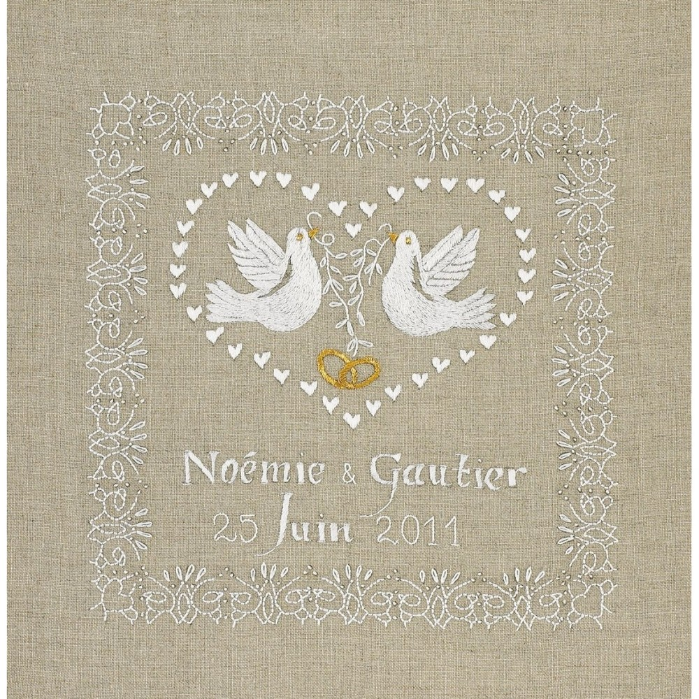 Wedding Sampler Royal Paris Embroidery Kit 9886477 00015