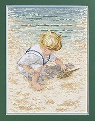 Boy with Horseshoe Crab