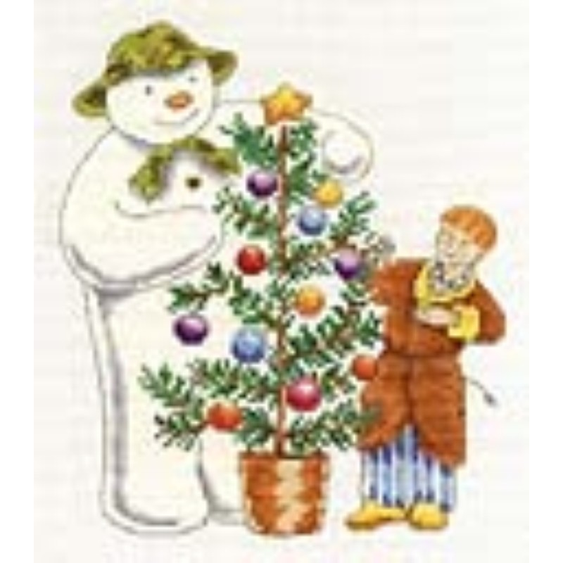 Raymond Briggs The Snowman Christmas Tree Decorations: The Snowman And James At Christmas