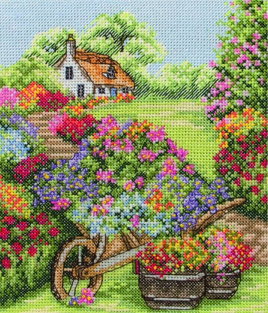 Floral Cross Stitch Designs Free