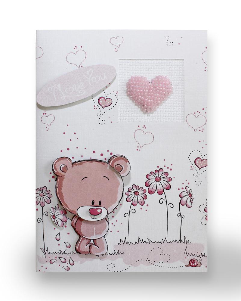 Bear with Heart Card
