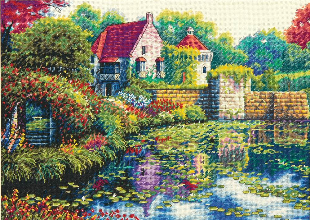 English Castle - Dimensions Cross Stitch Kit