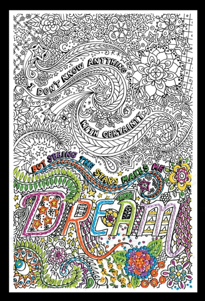Zenbroidery Printed Fabric - Dream