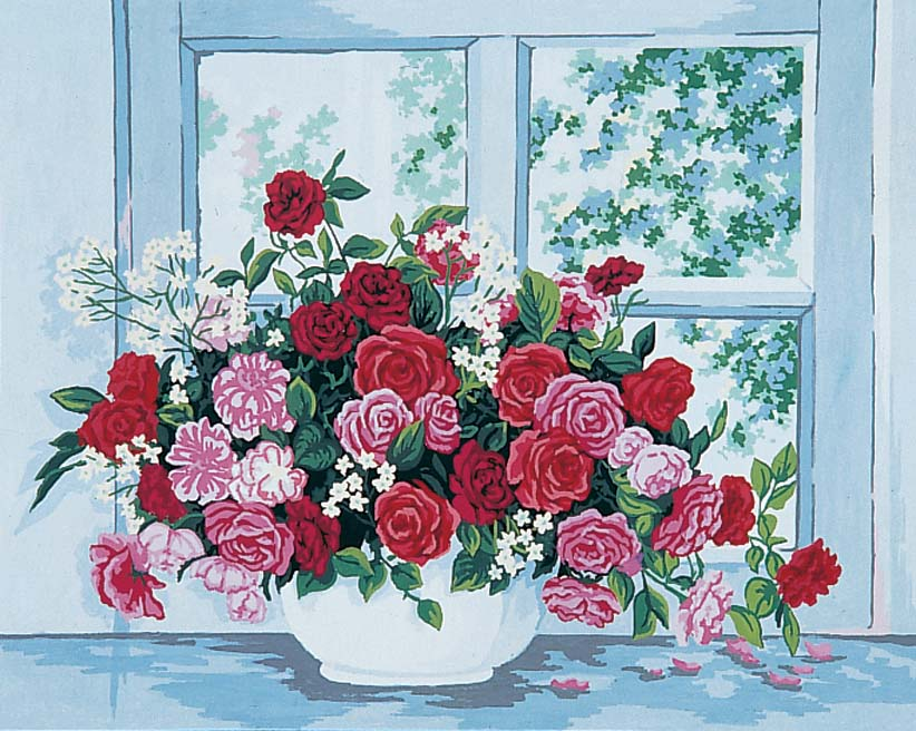 Roses by the Window
