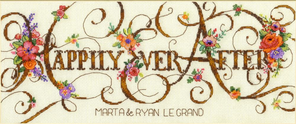 Ever After - Dimensions Cross Stitch Kit