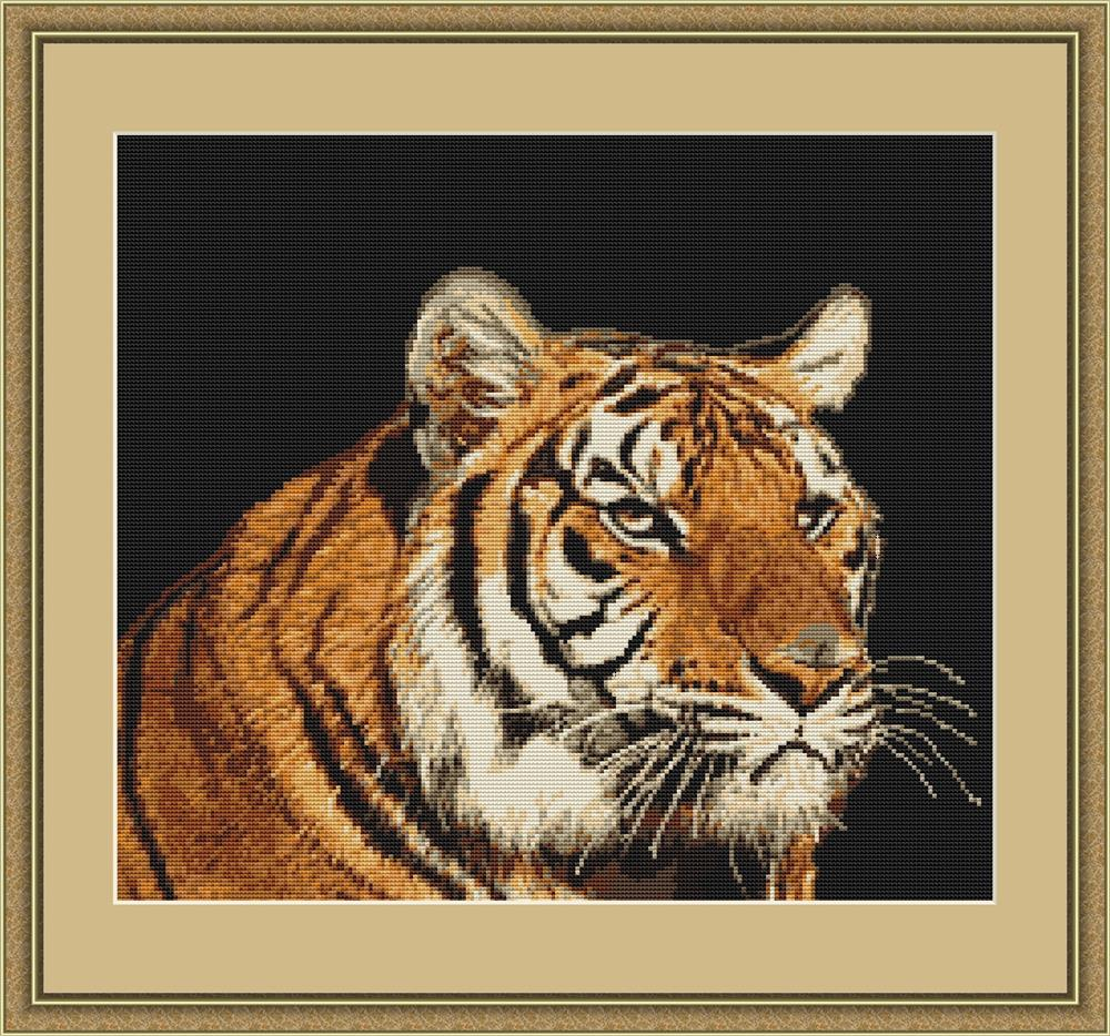 Tiger - Petit Point