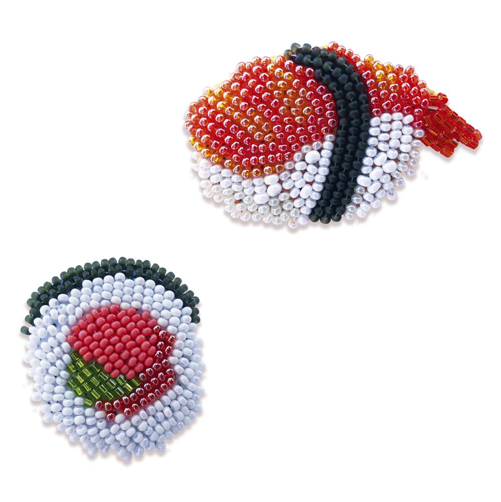 Sushi Brooches
