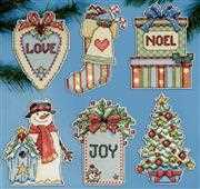 country christmas ornaments design works crafts cross stitch kit - Cross Stitch Christmas Decorations
